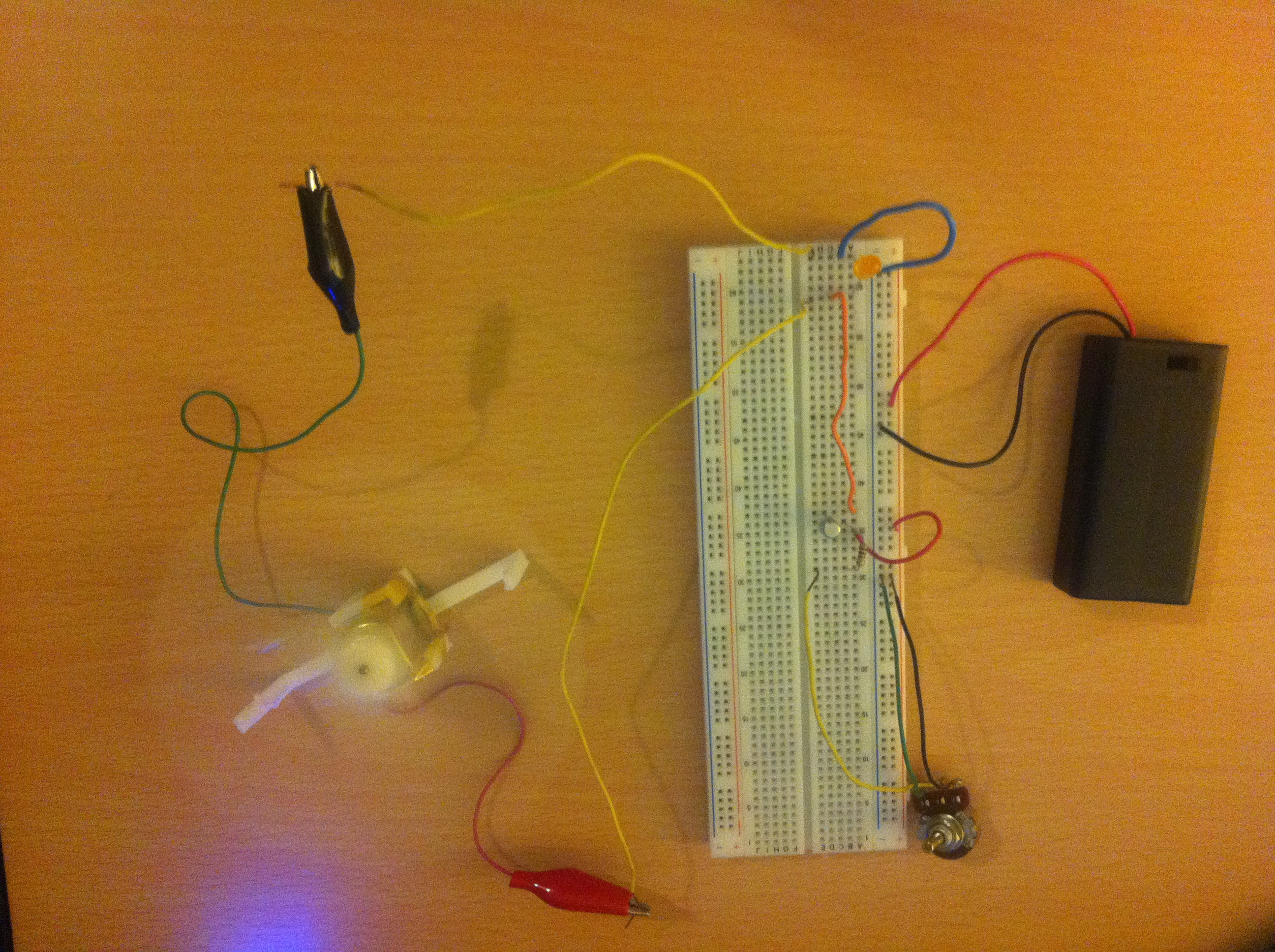 Step 5 Controlling Voltage Current Electrobotics Amplifier Circuit Motor With Led Diode Parallel Prevent Damage
